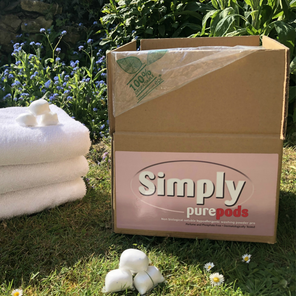 100 Simply Pure powder-tabs Bulk Box