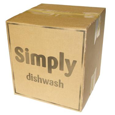 Simply Dishwash bulk box